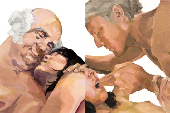 Justine Lai has painted herself having sex with each U.S. President, ...