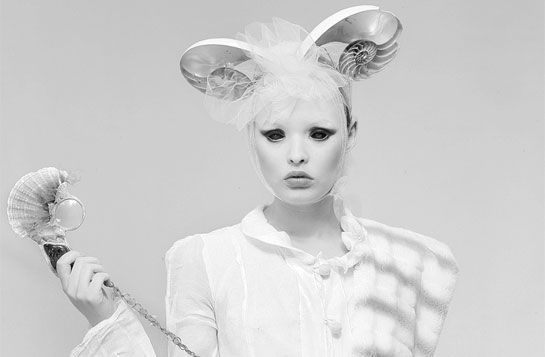 Weird fashion photography